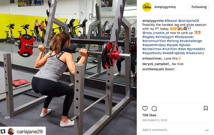 simply gym squat