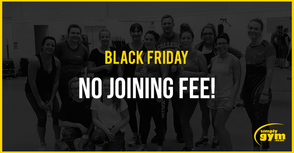 No joining fee - Simply Gym