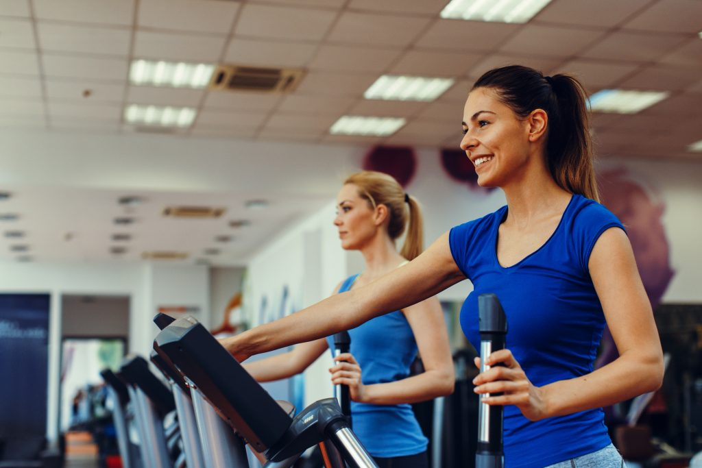 Simply Gym Ladies Only Gym Bedford - Stepping machines