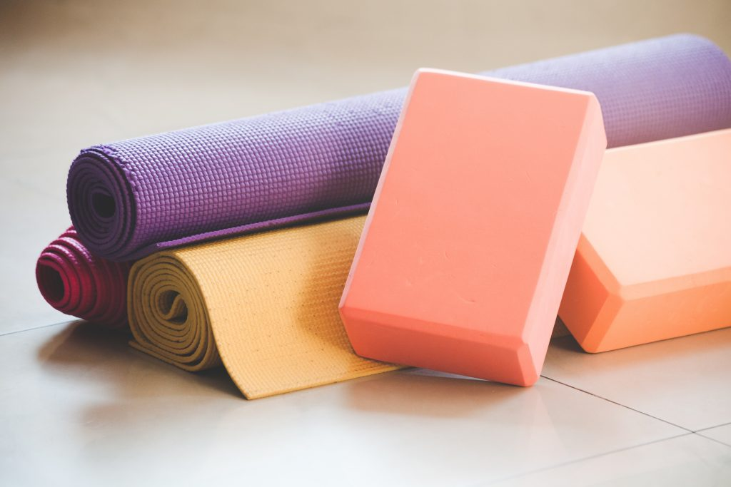 Yoga Equipment - Yoga in Bedford - Simply Gym