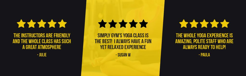 Yoga Reviews for Simply Gym