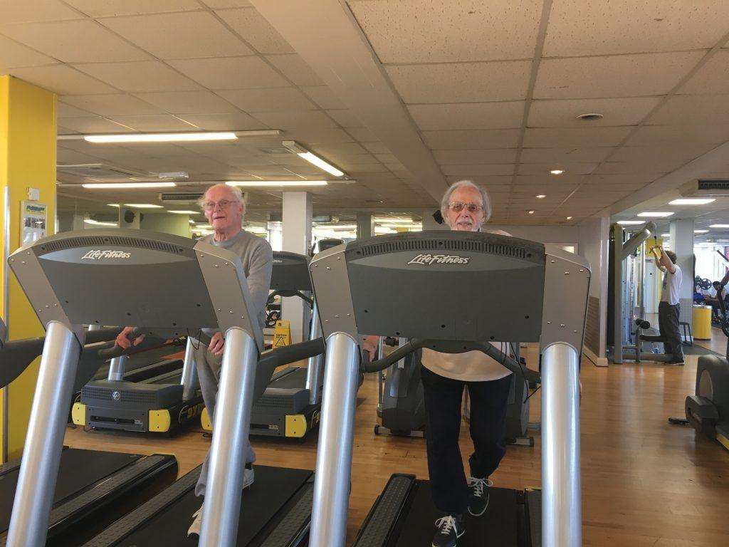 Steve Edgar and John - Simply Gym