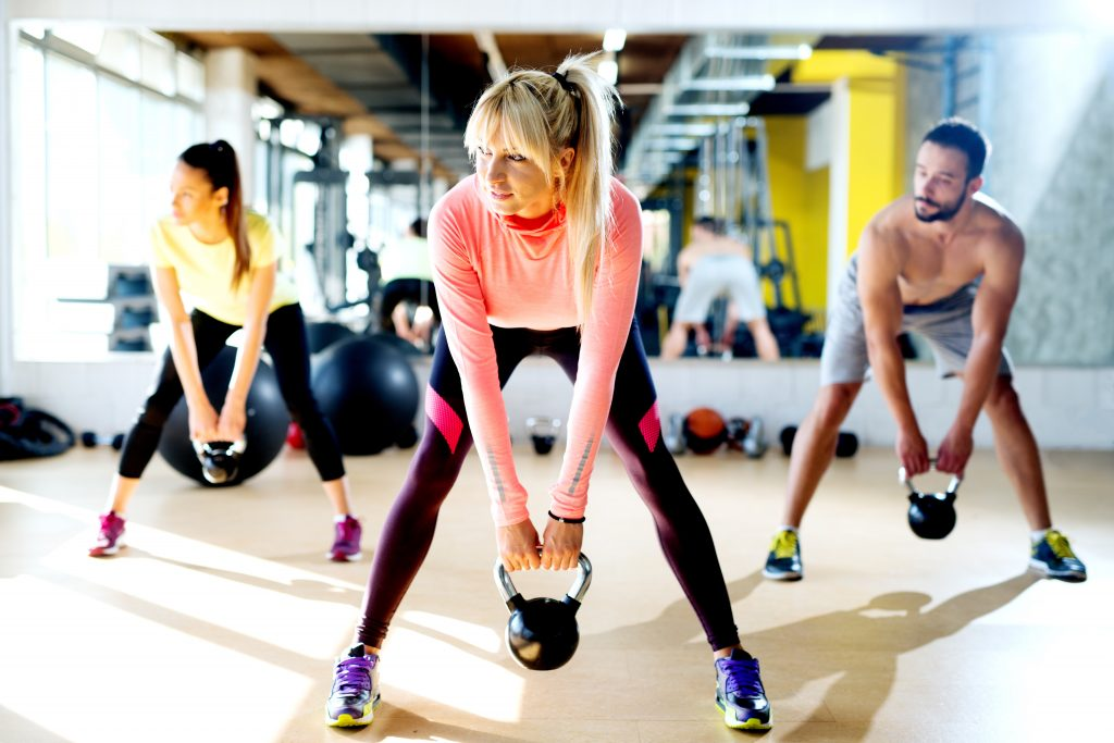 group exercise classes gym