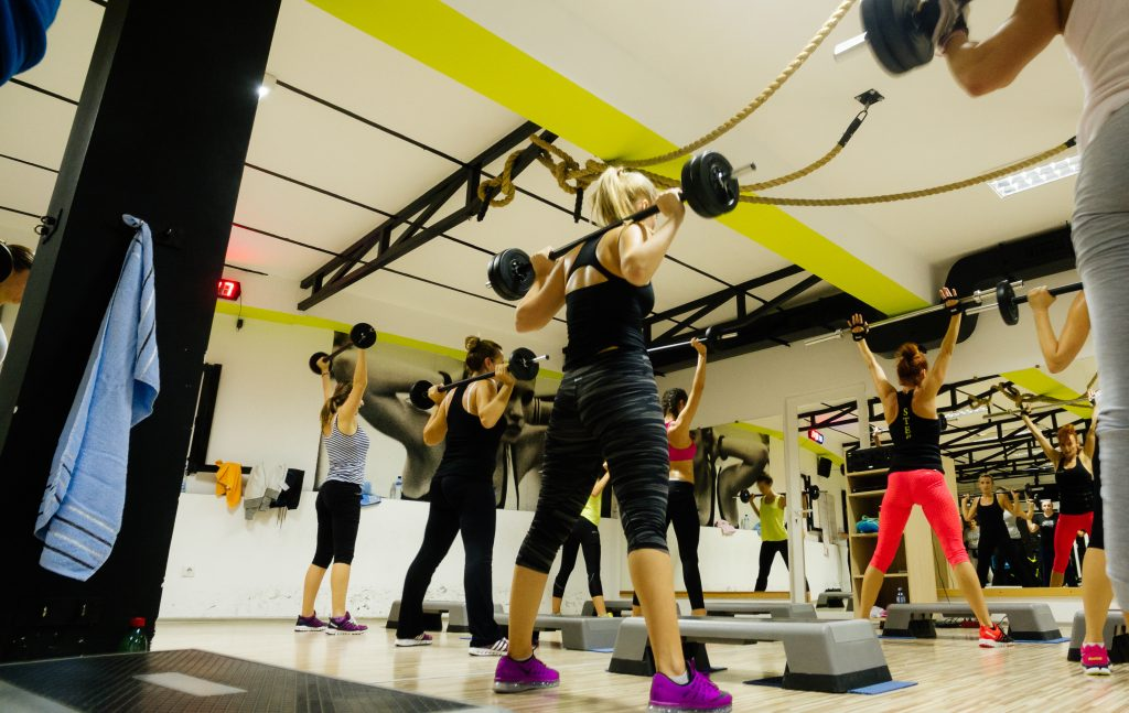 Body Pump Fitness - Group fitness workout at Simply Gym