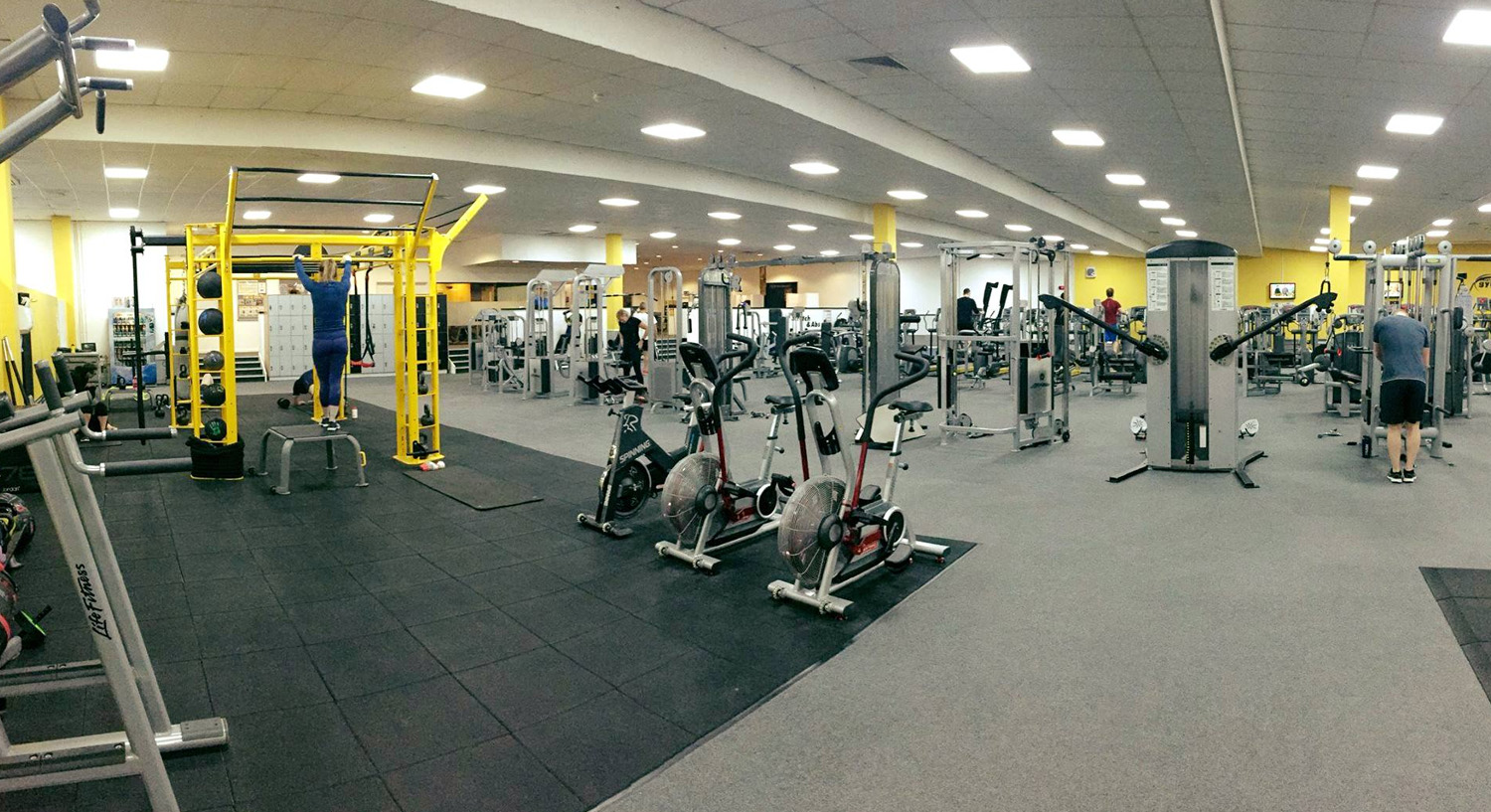 Hour gym in portsmouth with fitness classes pool village gym