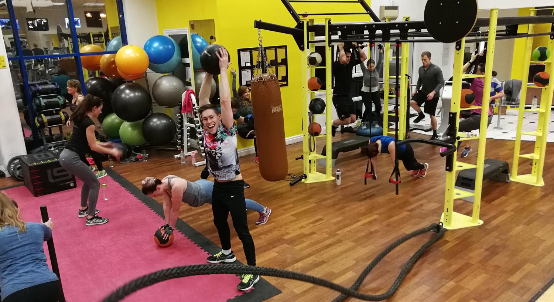 Simply Gym Crewe Facilities