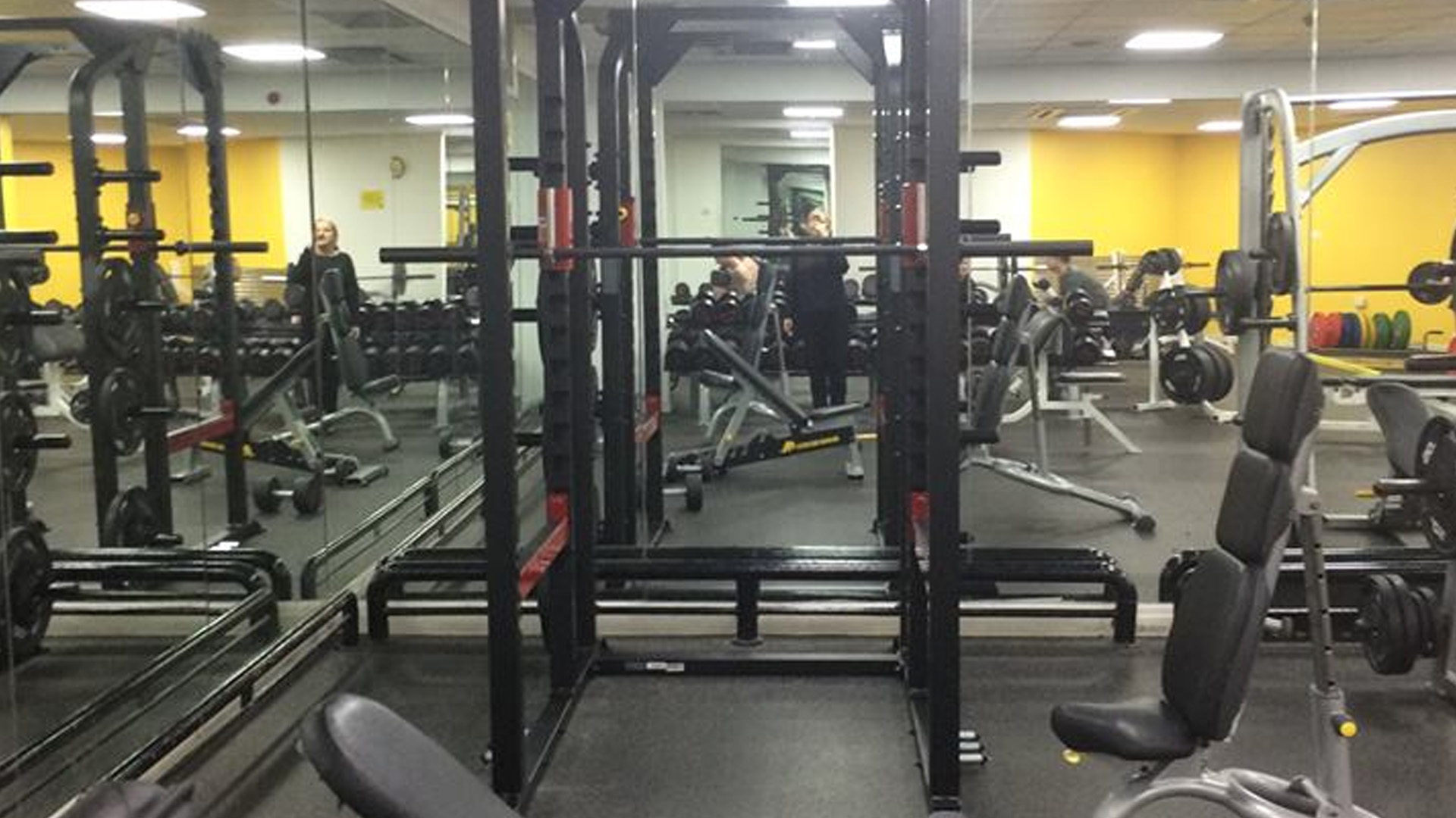 Simply Gym Crewe - Weights Section