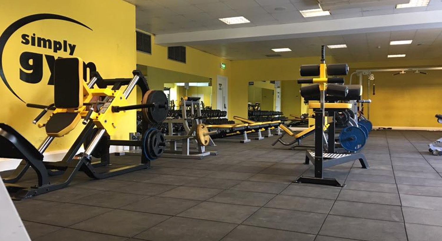 Simply Gym Swindon - Weights Section