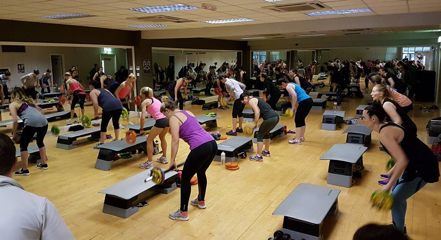 Simply Gym Swindon - Body Pump Class