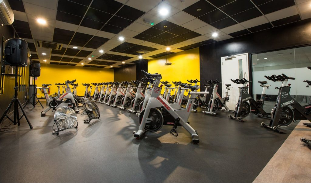 Simply Spin Classes - Spinning equipment at Simply Gym