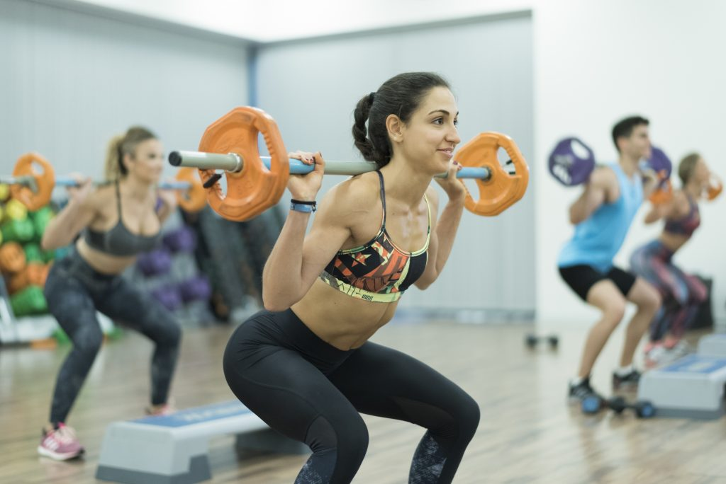 Body pump training at gym - Simply Gym Body Pump