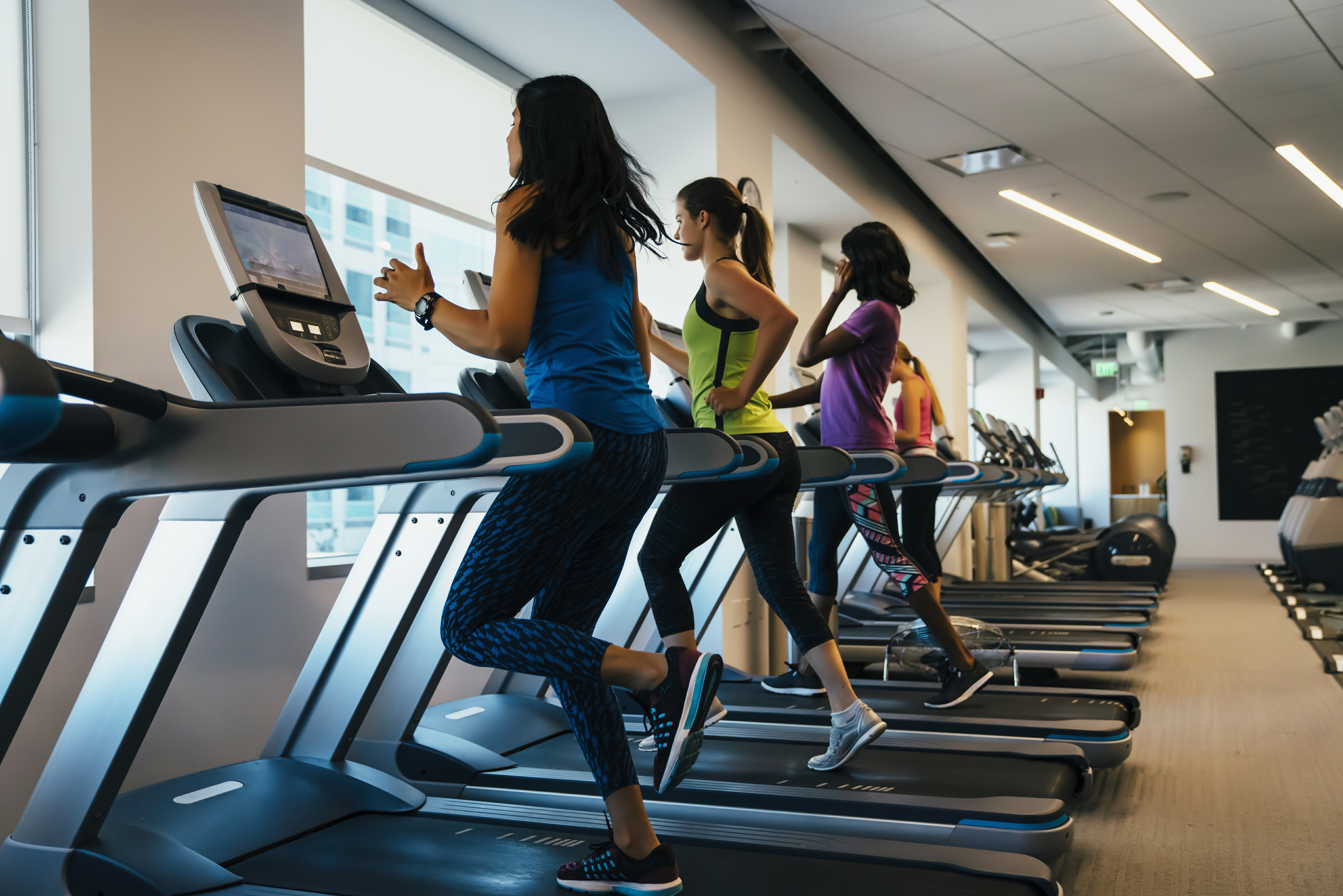 Running in Kettering - Run at Simply Gym