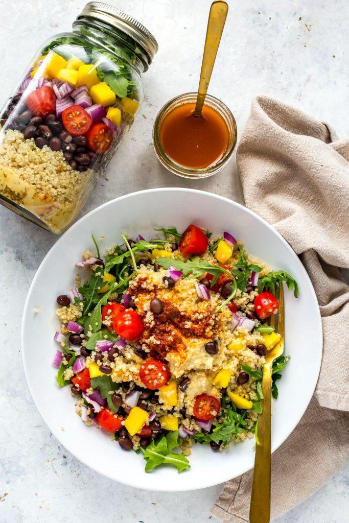 Winter Meal Prep - Jar Salad