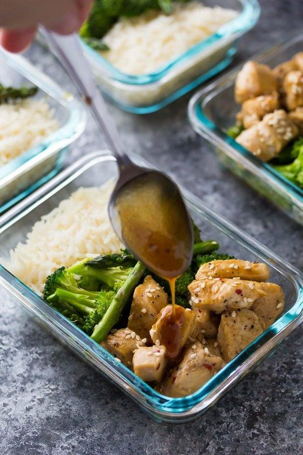 Winter Meal Prep - Sesame Chicken
