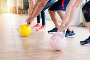 Kettlebell class at Simply Gym - Muscle building classes